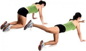 evde yapılacbilecek bel egzersizleri