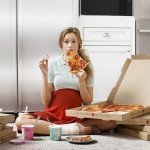 Gebelikte Pizza Yemek
