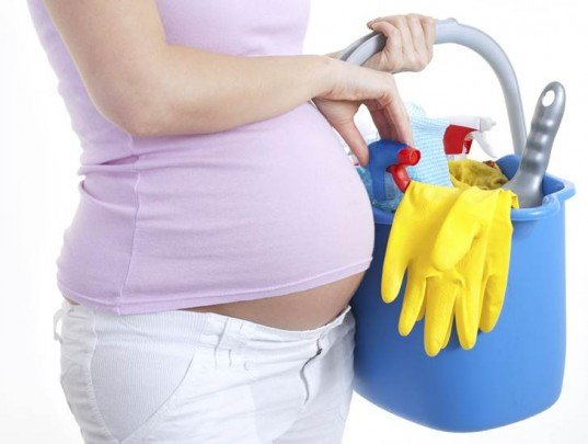 hamileleyken-temizlige-dikkat