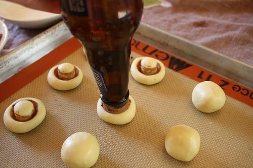 mantar kurabiyenin yapılışı