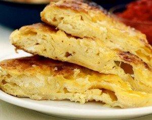 çift yufkalı peynirli börek