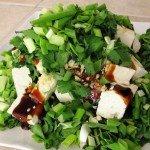 Peynirli Tere Salatası