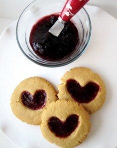 reçelli kurabiyenin yapımı