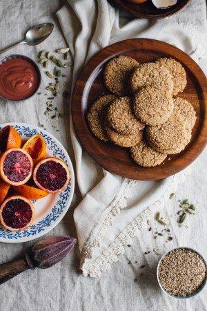 tahinli kurabiyenin malzemeleri